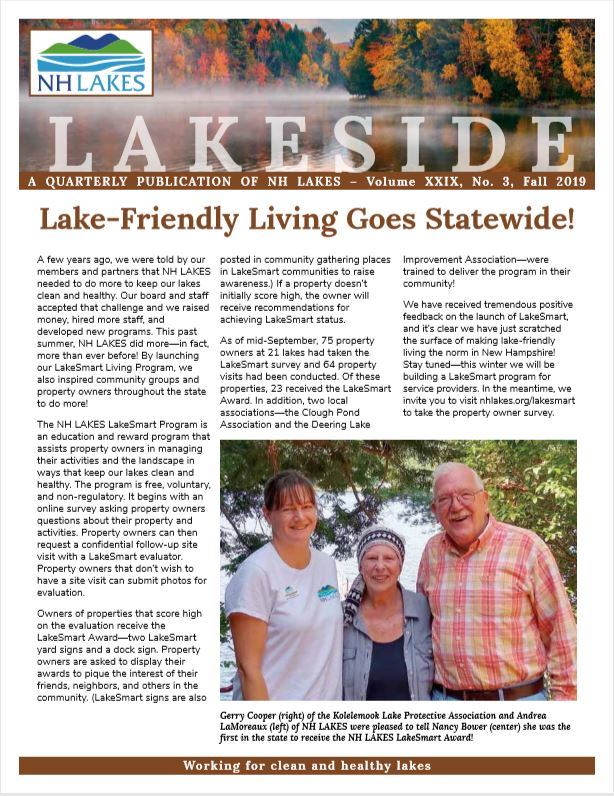2019 Fall Lakeside