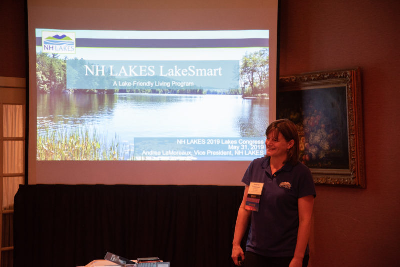 Andrea LaMoreaux at Lakes Congress