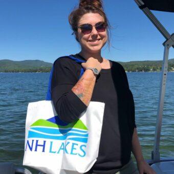 NH LAKES Tote Bag