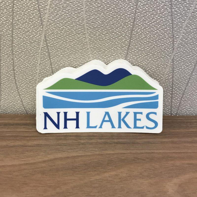 NH LAKES Sticker
