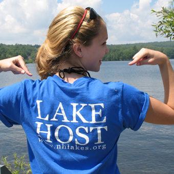 nh lakes become lake host