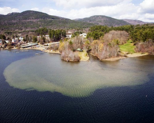 nh lakes polluted runoff